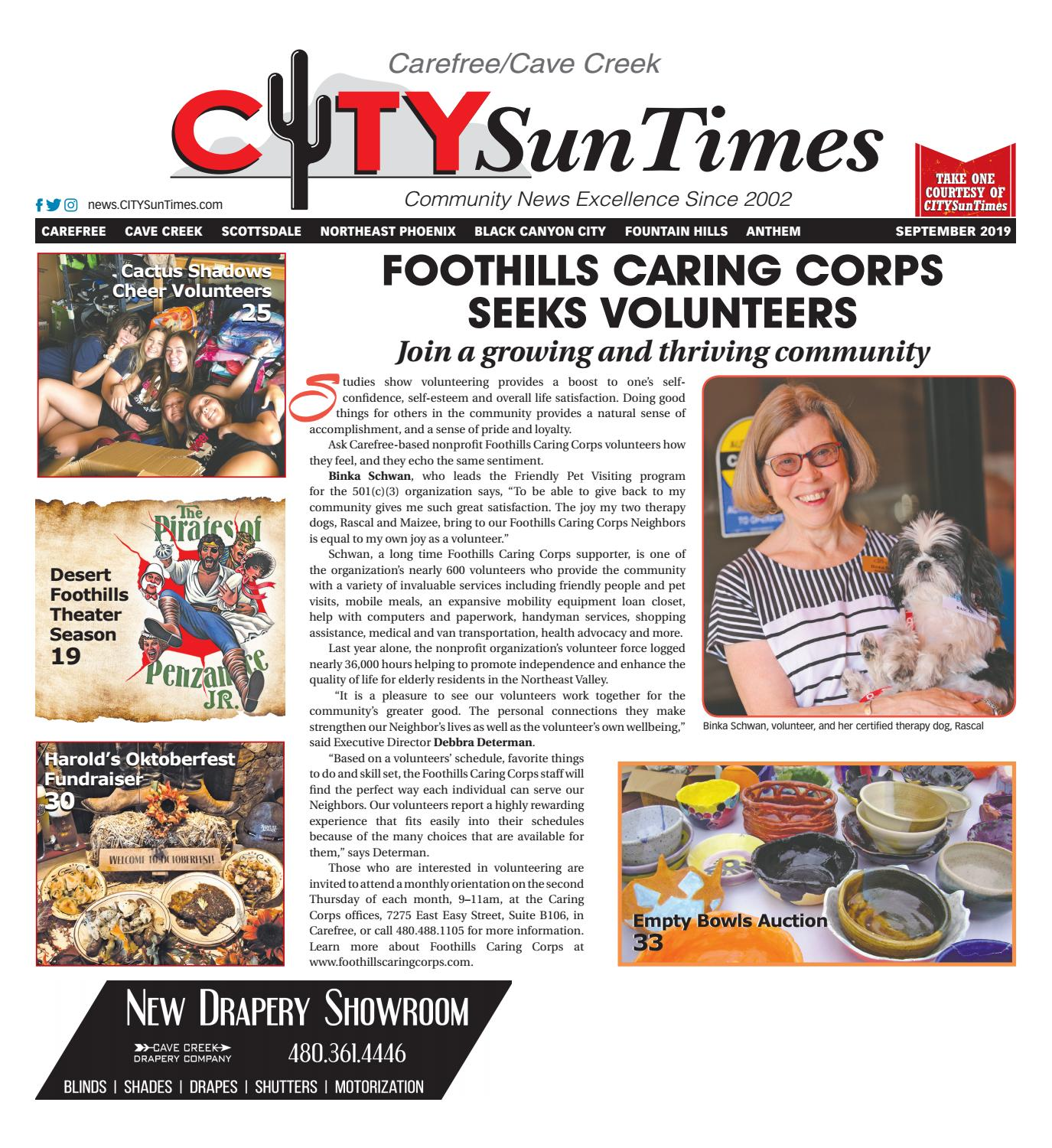 Carefree Cave Creek CITYSunTimes September 2019 Issue by