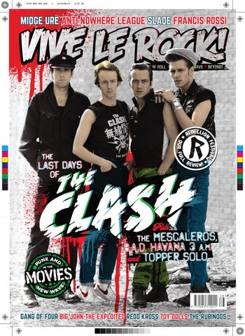 VIVE LE ROCK #66 THE CLASH by VIVE LE ROCK | LOUDER THAN WAR