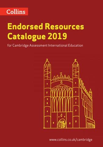 Endorsed Resources Catalogue for Cambridge Assessment