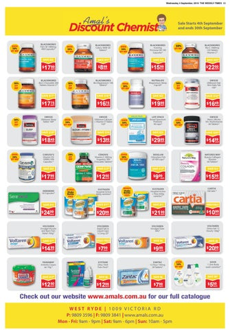 Page 13 of Amal's Discount Chemist Catalogue
