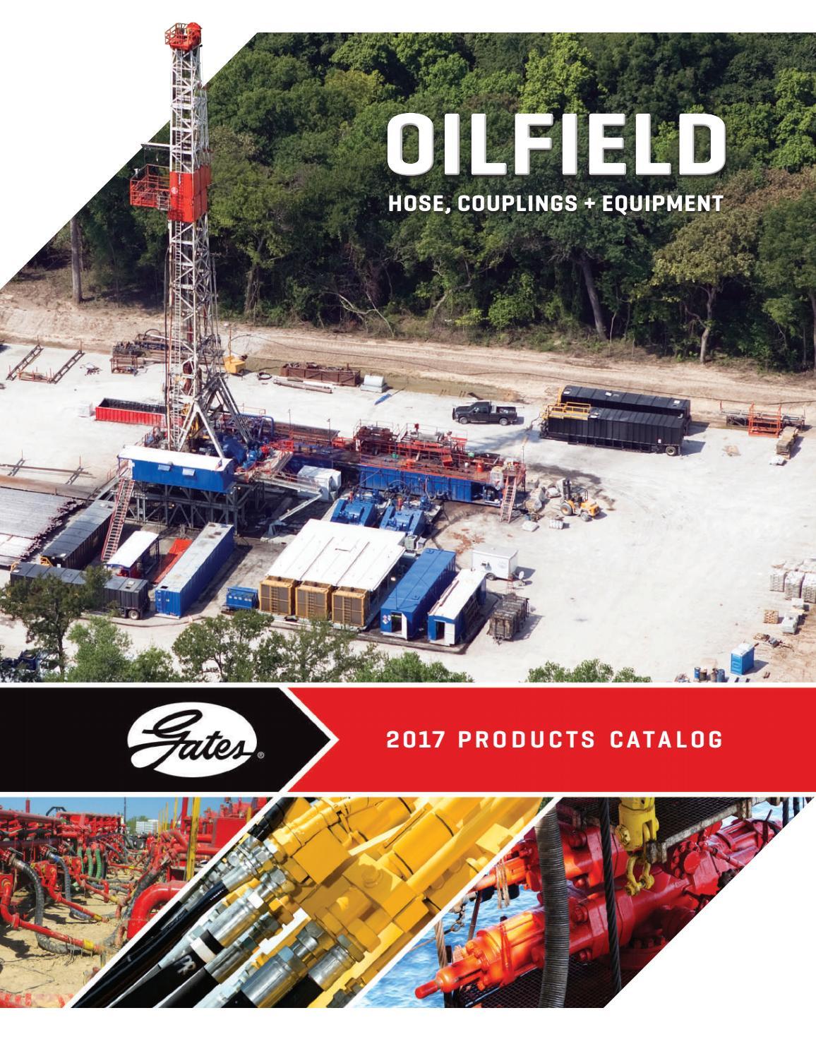 Gates 41100500 Oilfield Hose Black 4 ID 4 ID 150 psi Maximum Pressure