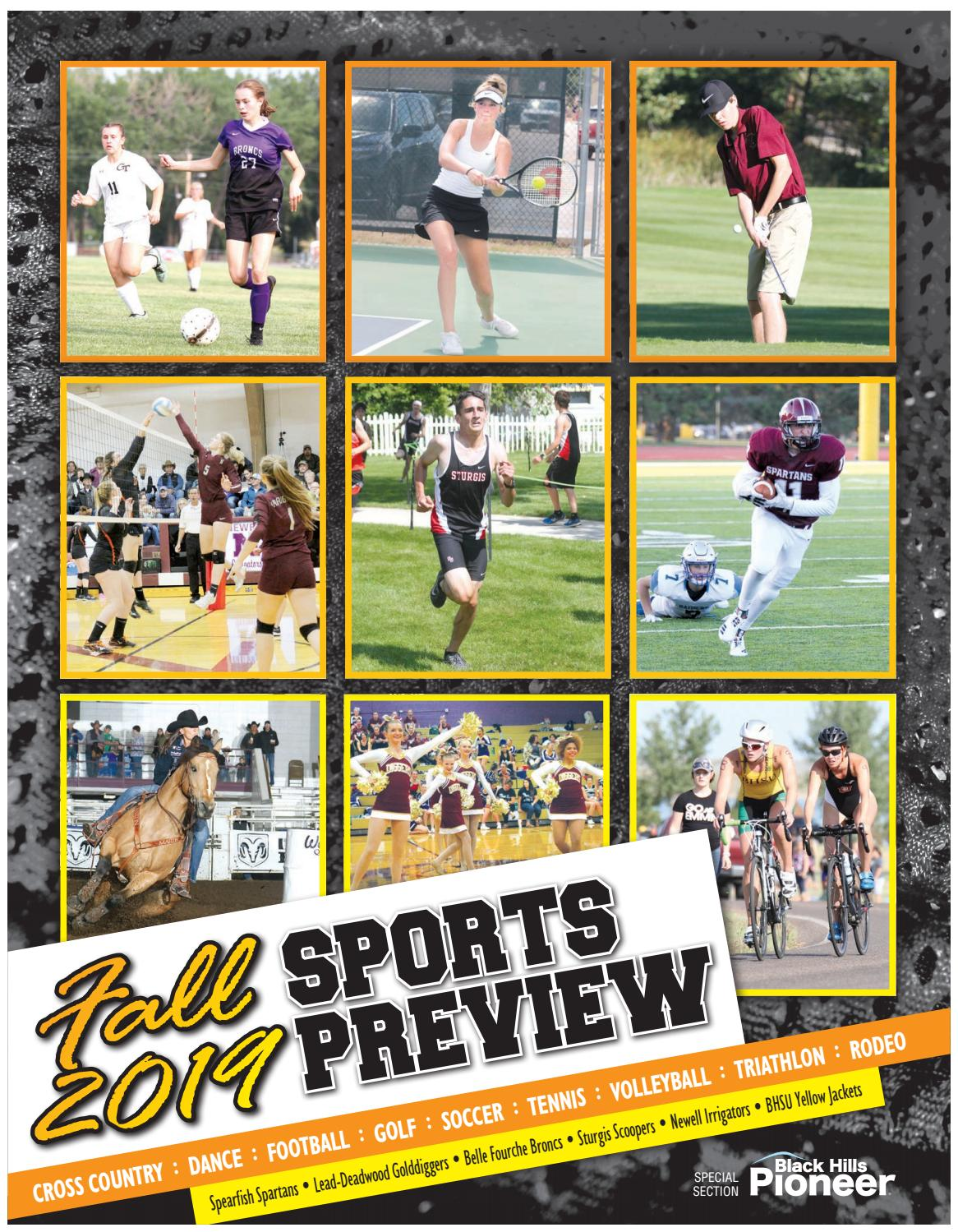 2019 Fall Sports Preview by Black Hills Pioneer - issuu