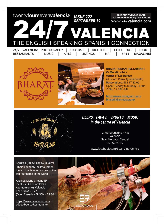 24 7 Valencia September 2019 Issue By 247valencia Issuu