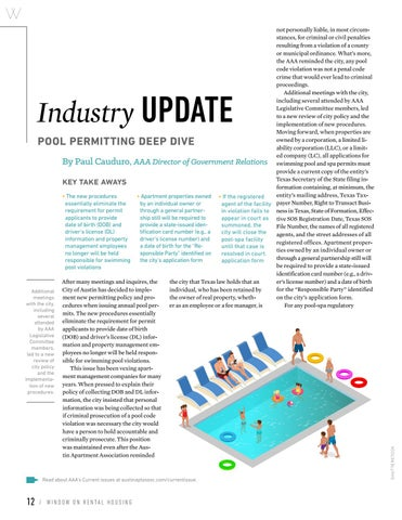 Page 14 of Industry Update