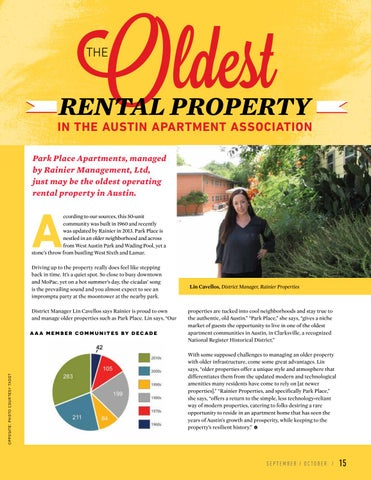 Page 17 of The Oldest Rental Property in the Austin Apartment Association
