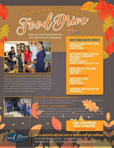Page 26 of Doc & Gayle Young Food Drive Battles Hunger