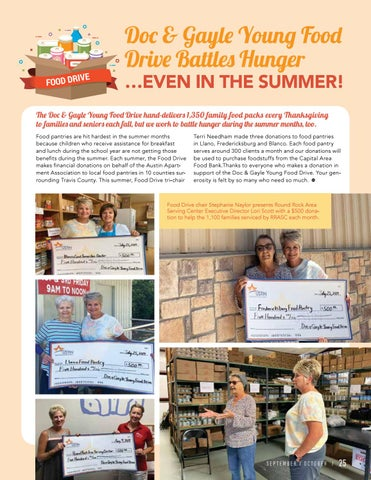 Page 27 of Doc & Gayle Young Food Drive Battles Hunger