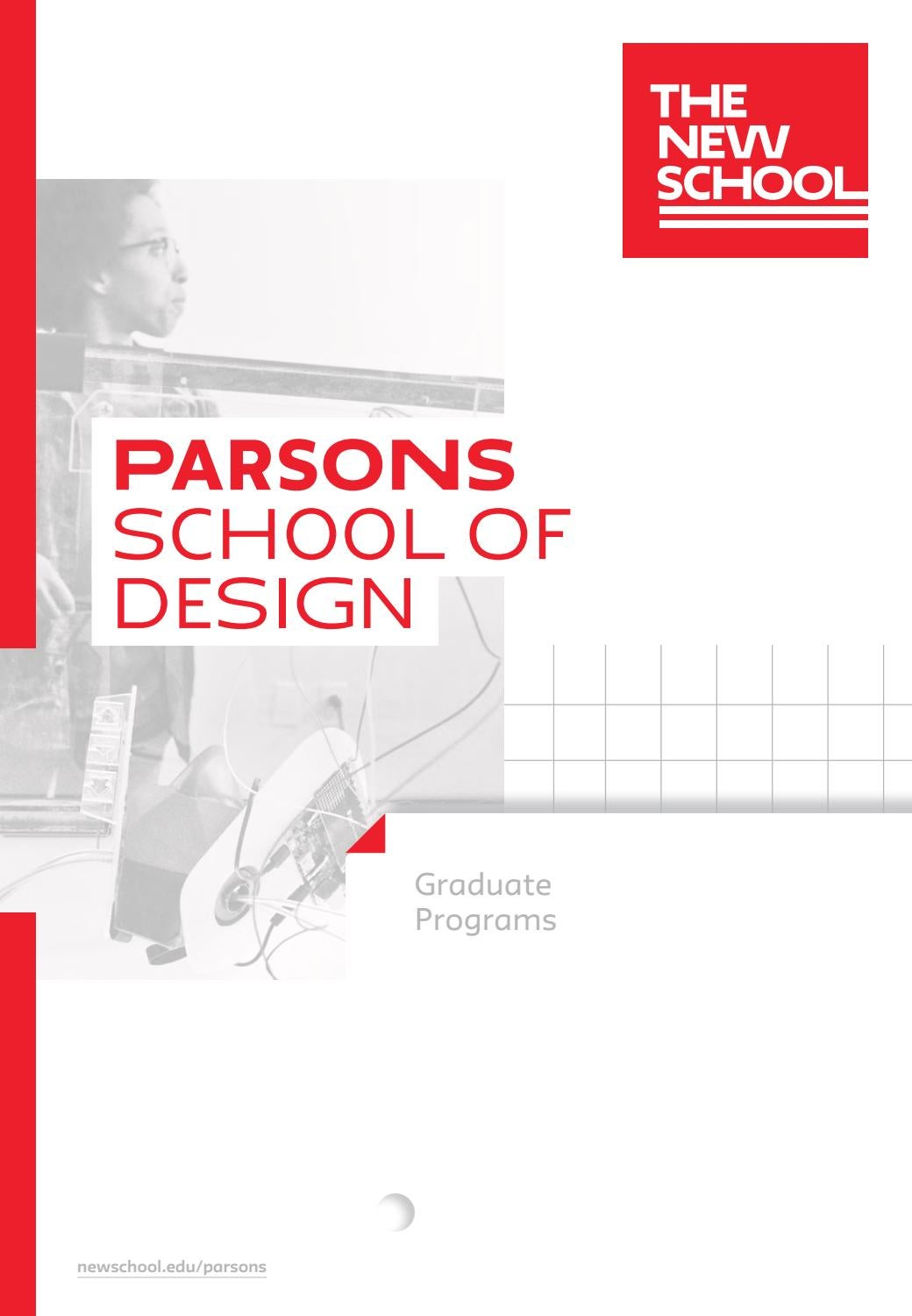 2019 Parsons Graduate Programs Viewbook By The New School Issuu