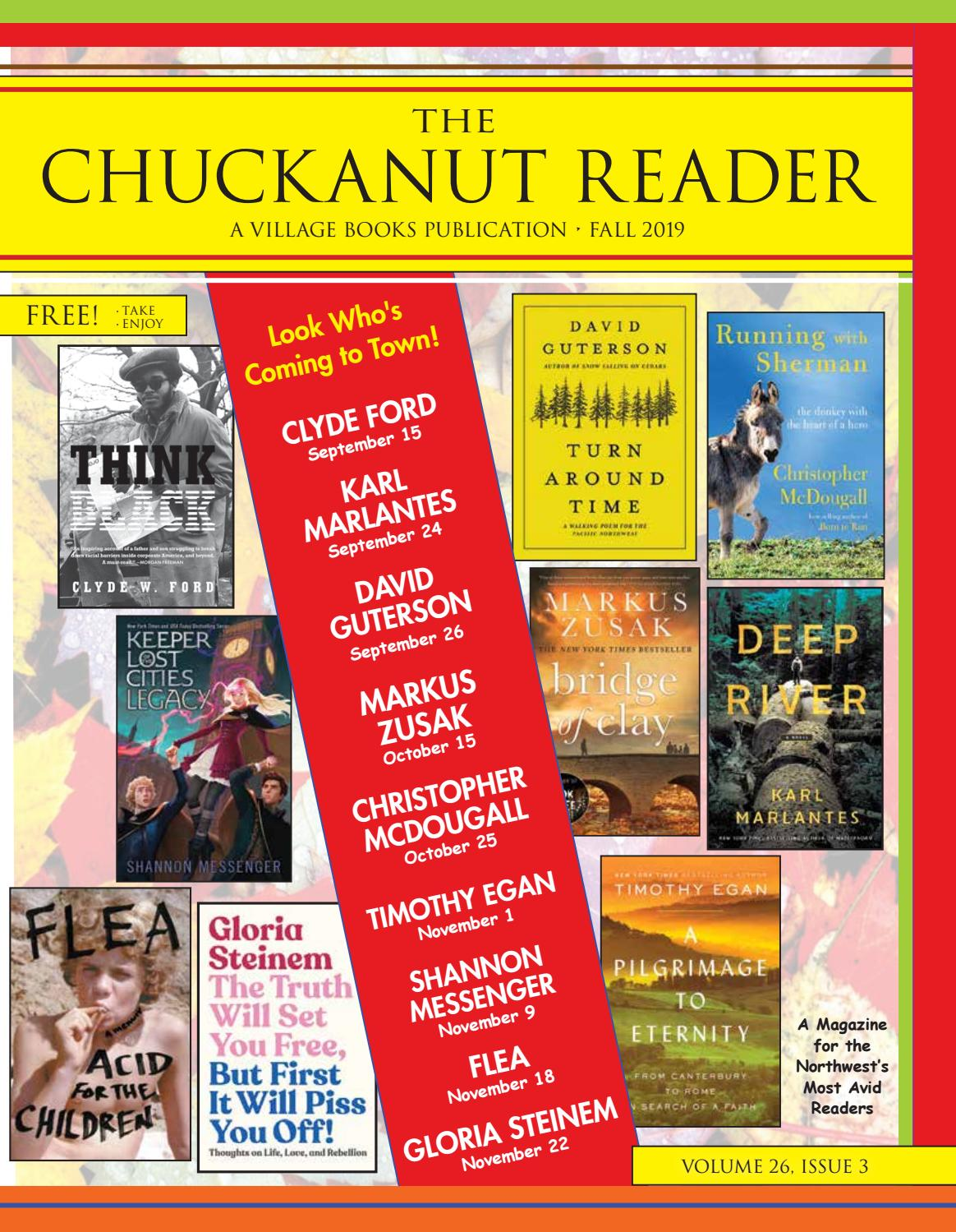 The Chuckanut Reader – Fall 2019 by Village Books and Paper
