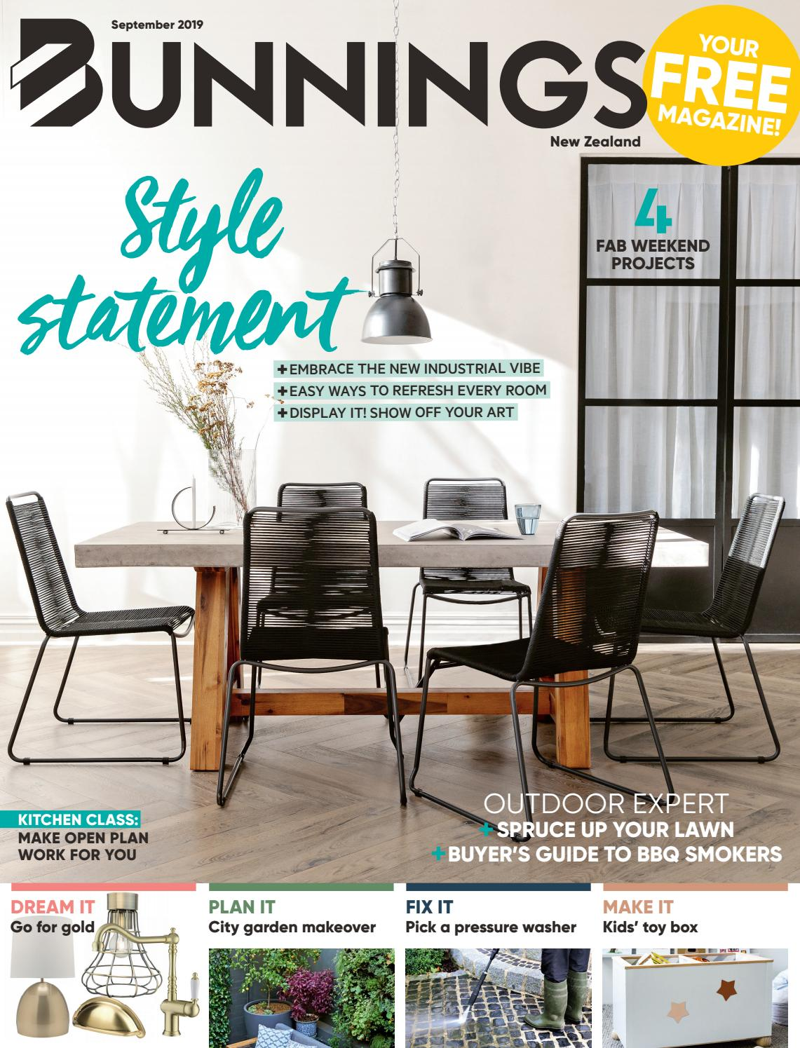 Picture of: Bunnings Magazine Nz September 2019 By Bunnings Issuu