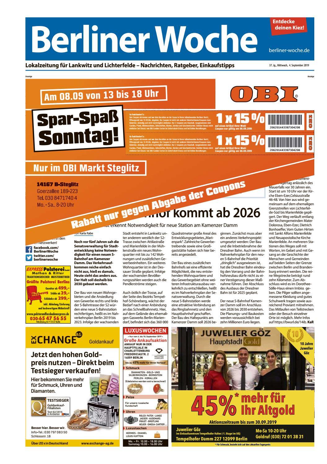 L19 Lankwitz Lichterfelde by Berliner Woche issuu