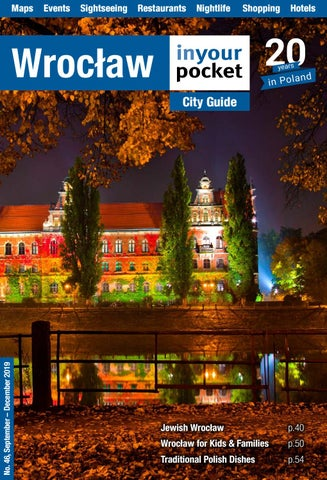 Wroclaw In Your Pocket September December 2019 By Poland