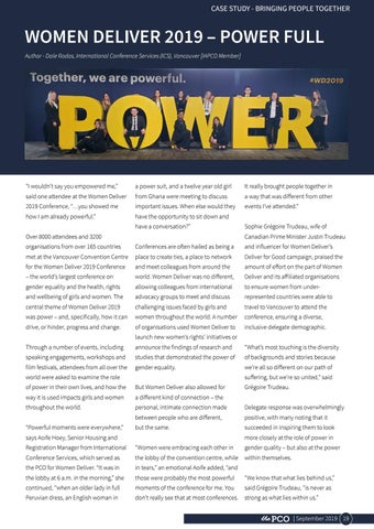 Page 19 of Women Deliver 2019 - Power Full