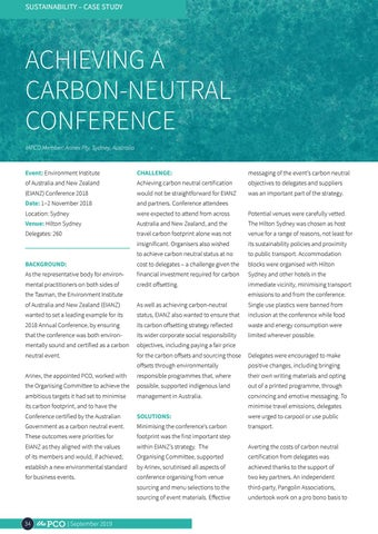 Page 34 of Achieving a carbon-neutral conference