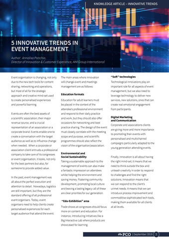 Page 5 of 5 Innovative Trends in Event Management