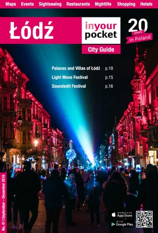 Lodz In Your Pocket September December 2019 By Poland In