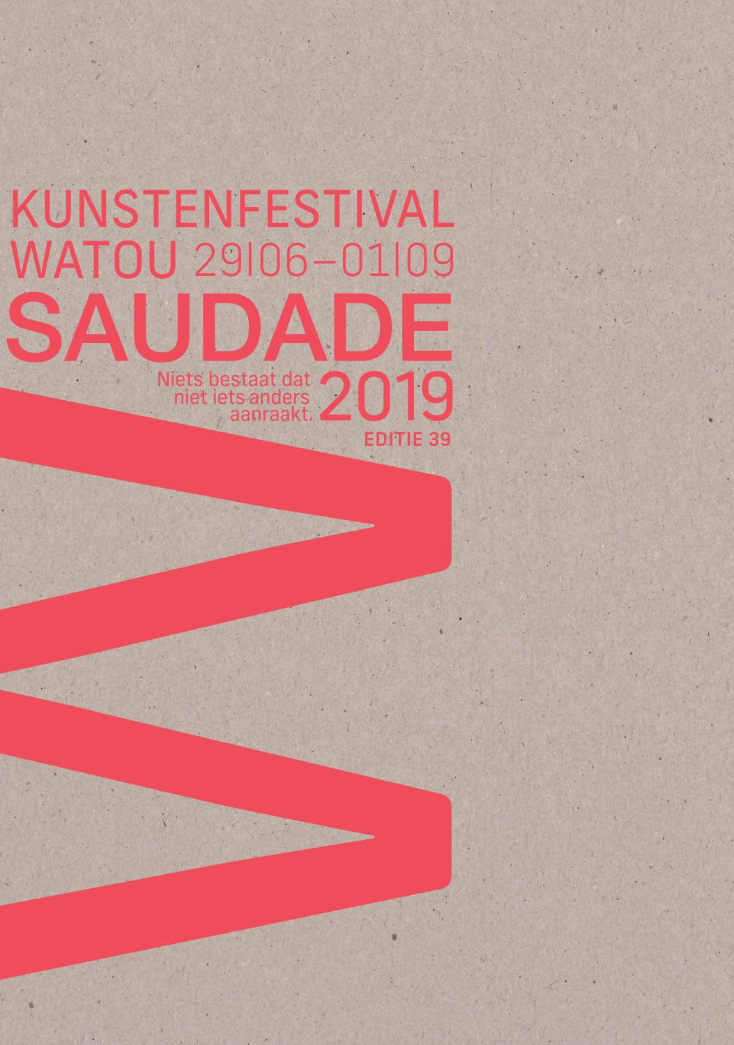 Kunstenfestival Watou 2019 By Vzwkunst Issuu
