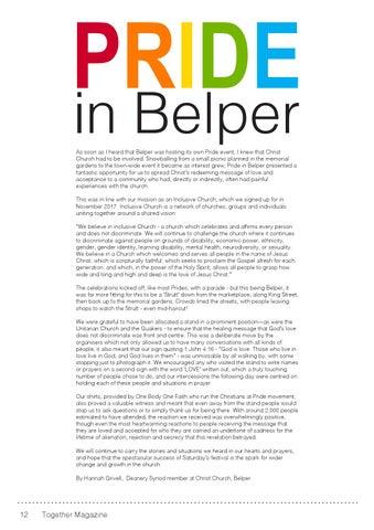Page 12 of Pride in Belper