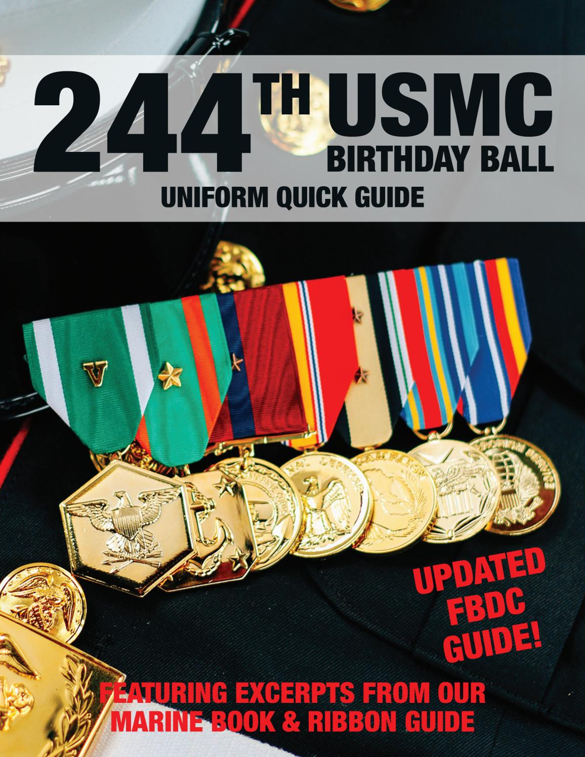 Medals Of America 244th Usmc Uniform Guide By Kirk Stotzer