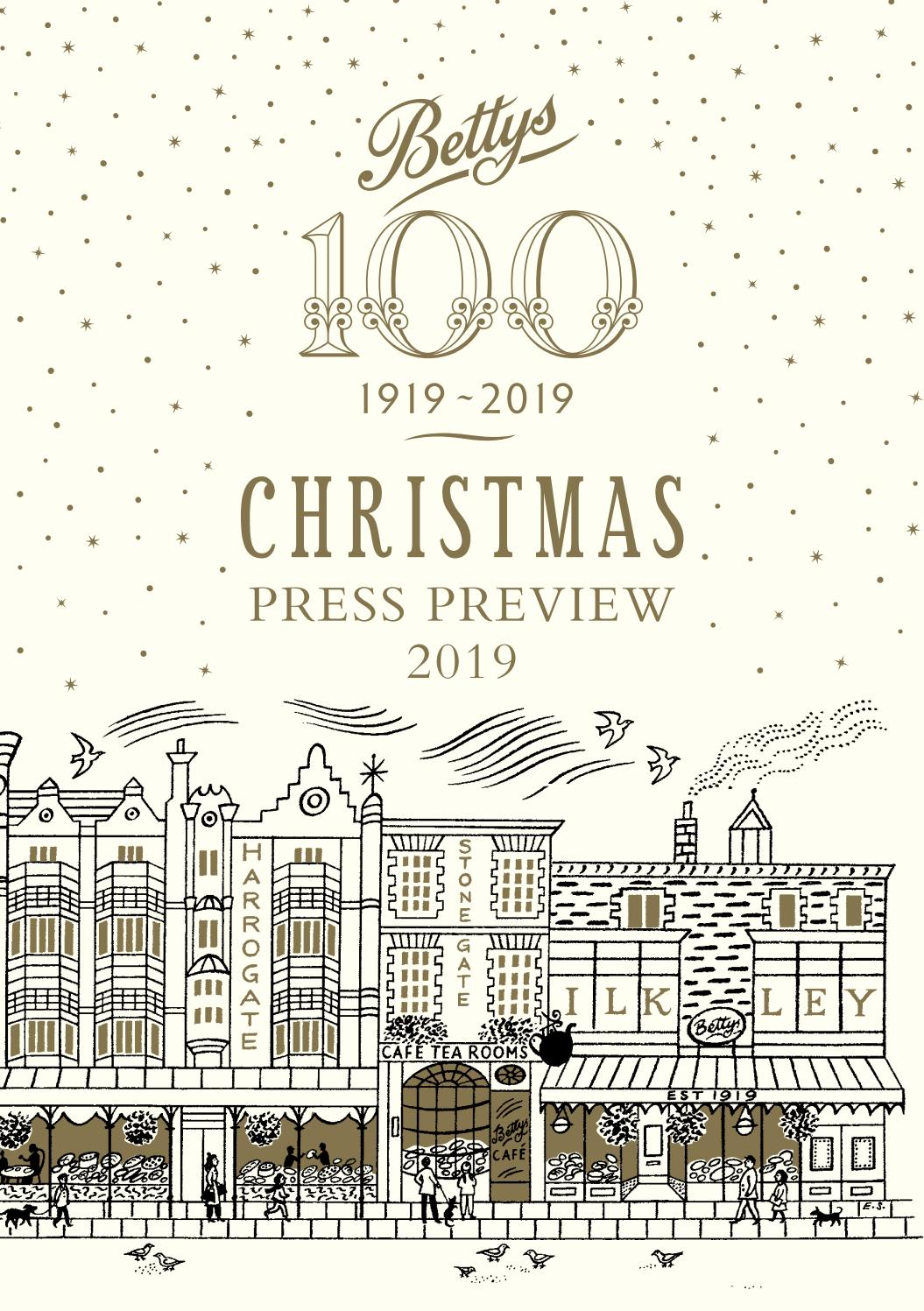 Bettys Christmas Consumer Catalogue 2019 by Jet Digital