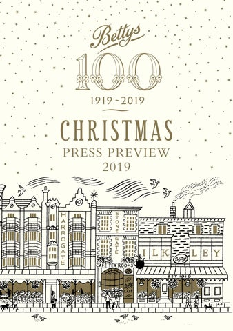 Ltd Christmas Catalog.Bettys Christmas Consumer Catalogue 2019 By Jet Digital