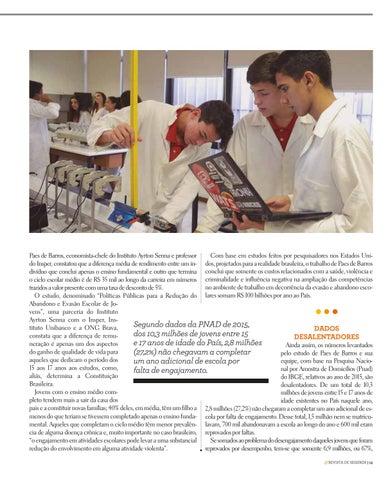 Page 13 of BAIXA ATRATIVIDADE ESCOLAR AMARRA O BRASIL NA RENDA MÉDIA