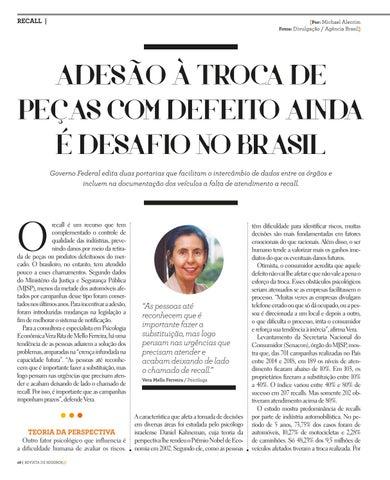 Page 28 of ADESÃO À TROCA DE PEÇAS COM DEFEITO AINDA É DESAFIO NO BRASIL