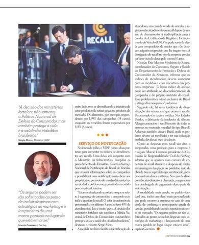Page 29 of ADESÃO À TROCA DE PEÇAS COM DEFEITO AINDA É DESAFIO NO BRASIL