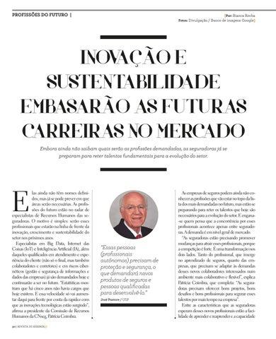 Page 30 of INOVAÇÃO E SUSTENTABILIDADE EMBASARÃO AS FUTURAS CARREIRAS NO MERCADO