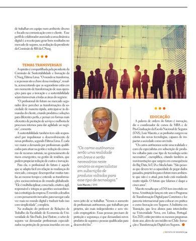 Page 31 of INOVAÇÃO E SUSTENTABILIDADE EMBASARÃO AS FUTURAS CARREIRAS NO MERCADO