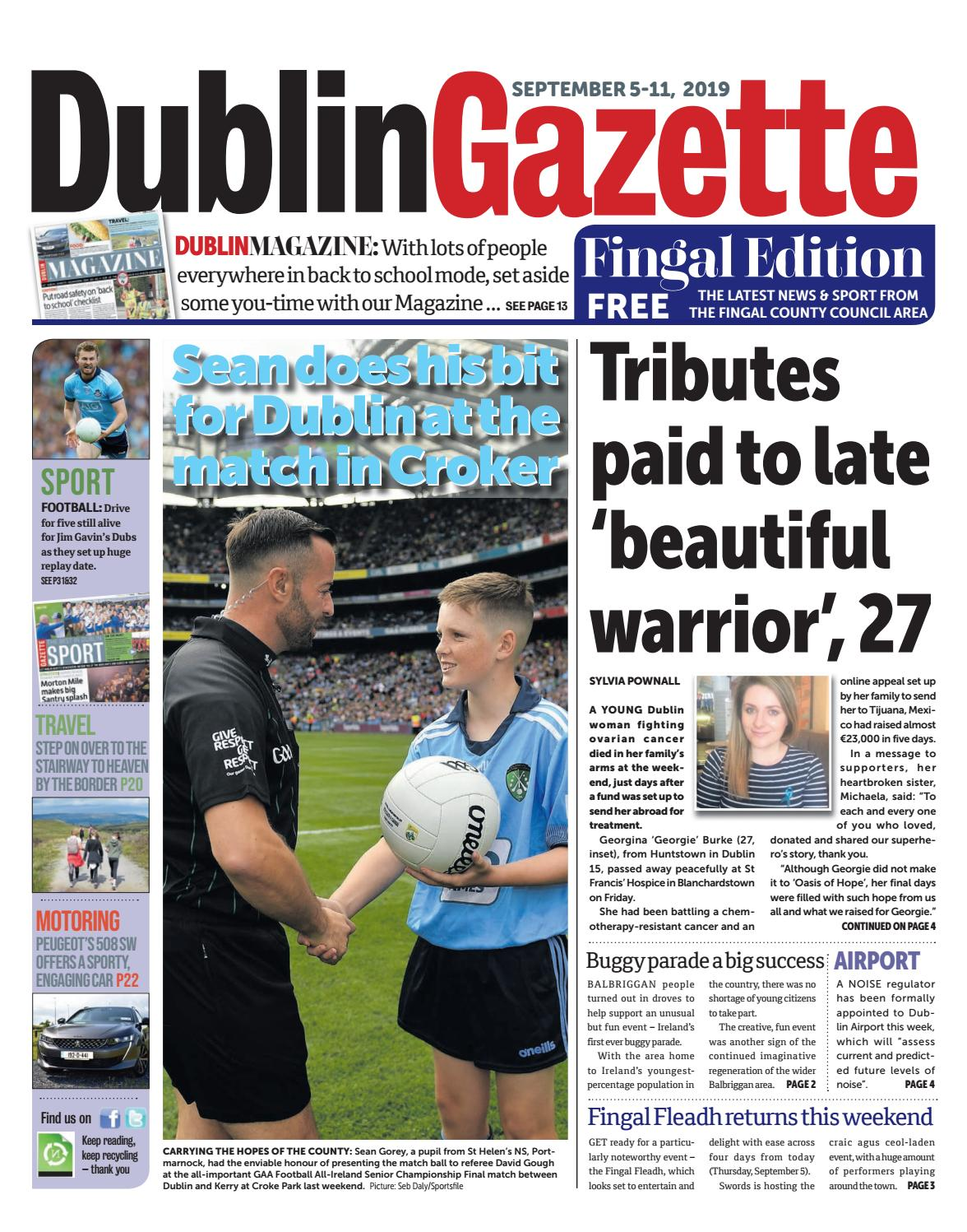 Dublin Gazette Fingal Edition By Dublin Gazette Issuu