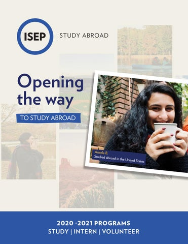 Isep Catalog For International Student By Study Abroad Issuu Personal Statement
