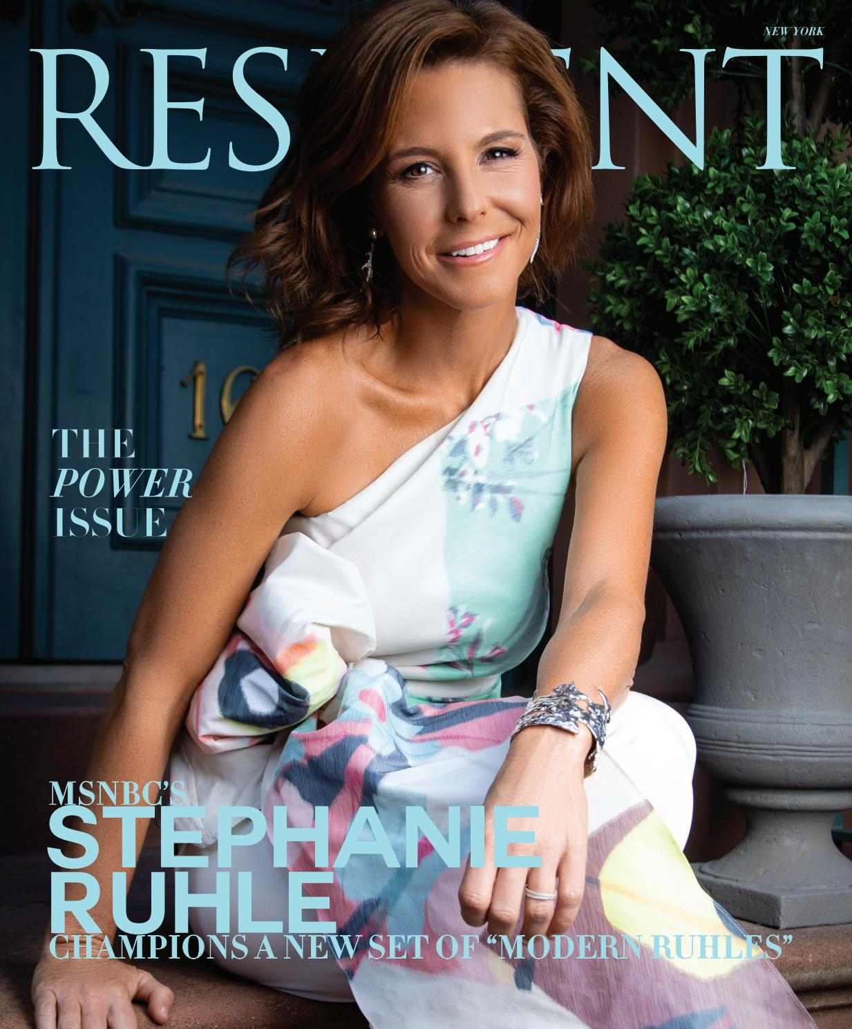 Resident Magazine NY SEPTEMBER 2019_STEPHANIE RUHLE by