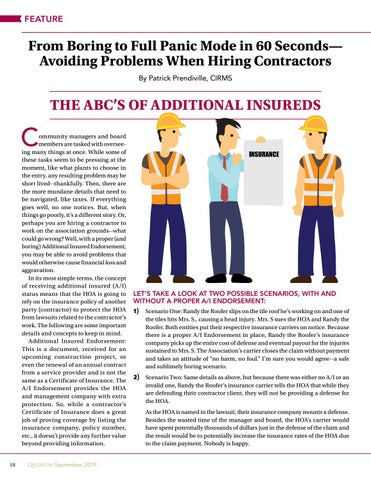 Page 18 of From Boring to Full Panic Mode in 60 Seconds— Avoiding Problems When Hiring Contractors