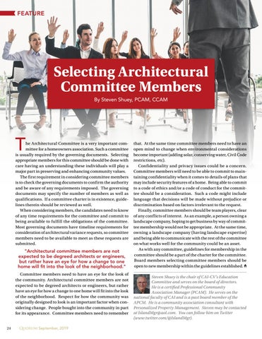 Page 24 of Selecting Architectural Committee Members