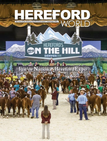American Hereford September 2019 Archives American Hereford