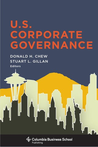 U S  Corporate Governance, by Donald H  Chew (introduction)