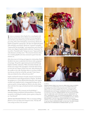 Page 157 of Virginia Wedding: Sophia + David