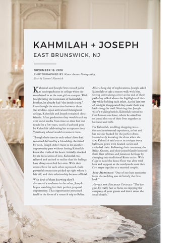 Page 191 of New Jersey Wedding: Kahmilah + Joseph