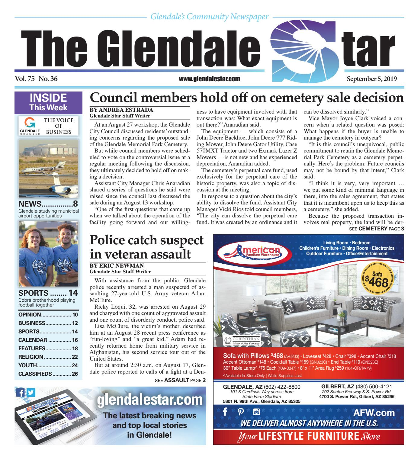 Glendale Star 09-05-2019 by Times Media Group - issuu