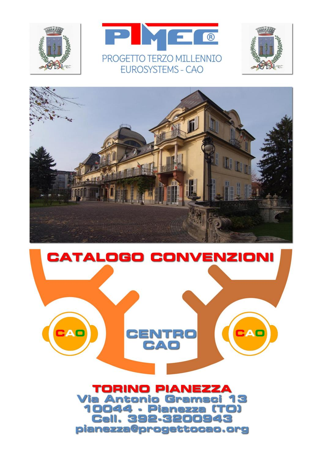 CATALOGO CENTRO CAO TORINO PIANEZZA by Eurosystems Network ...