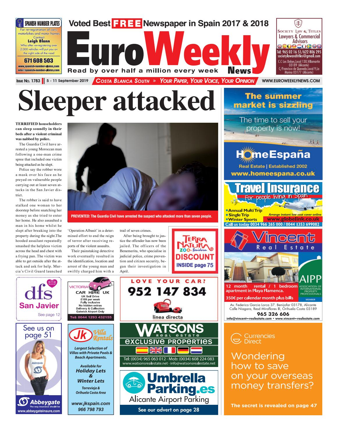 J Fernandez Colchones.Euro Weekly News Costa Blanca South 5 11 September 2019