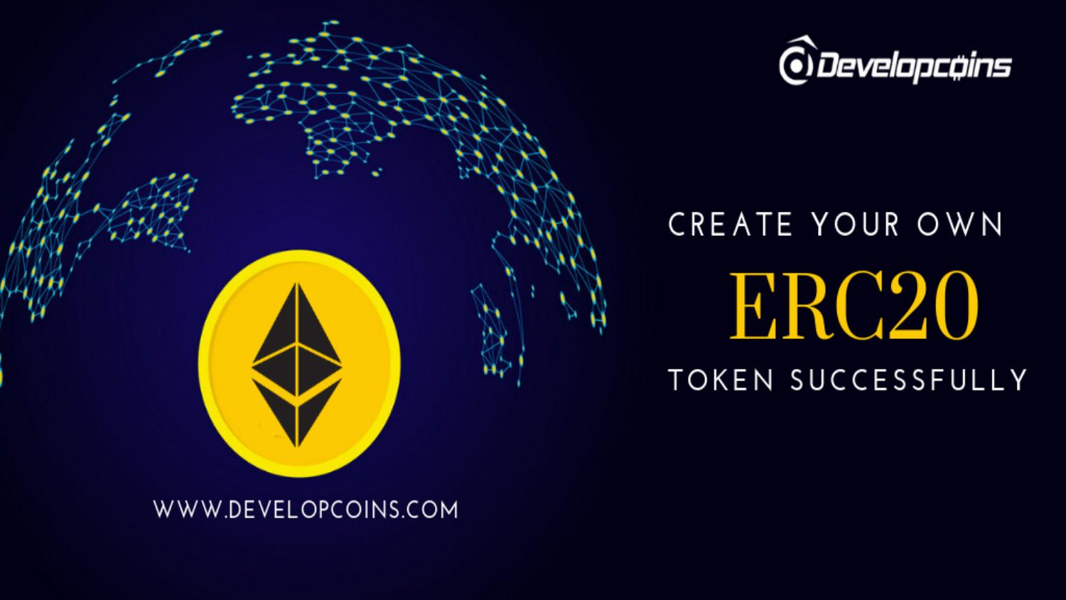 how to create your own token