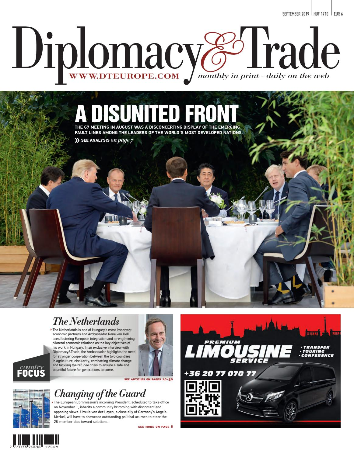 Diplomacy & Trade 2019 September by Diplomacy&Trade - issuu