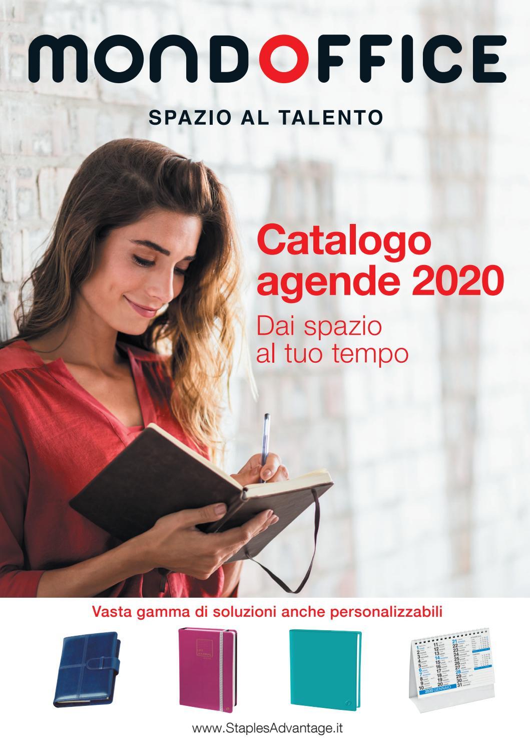 Agenda Giornaliera 2020 Tucson Turchese 15x21 cm