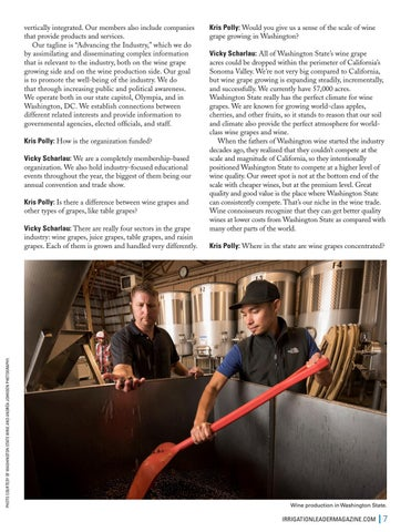 Page 7 of Washington State's Irrigated Wine Grape Industry