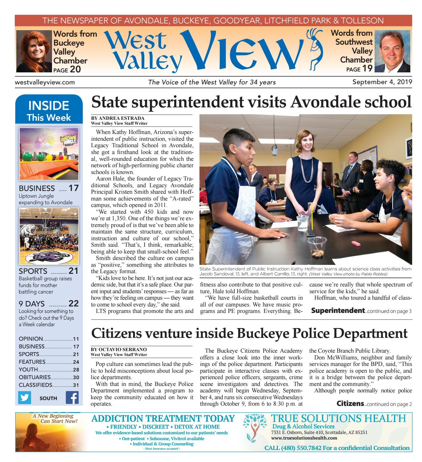 West Valley View: South 09 - 04 - 2019 by Times Media Group ...