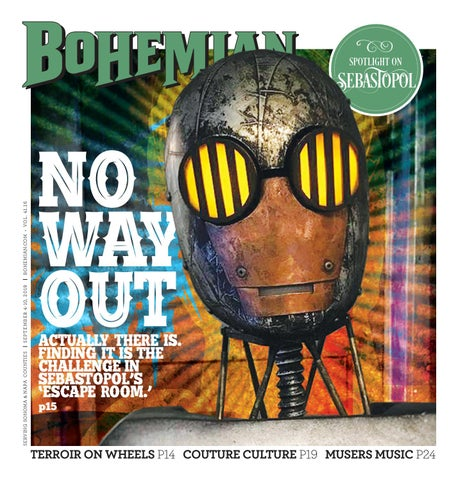 North Bay Bohemian September 4-10, 2019 by Metro Publishing