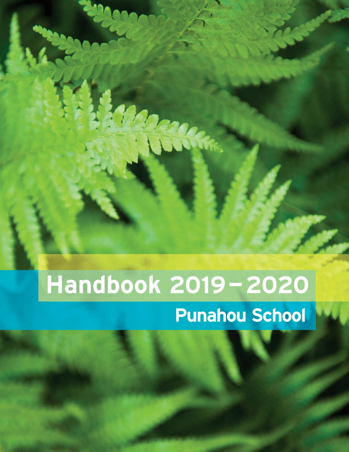University Of Idaho Spring Break 2020.Punahou School Handbook 2019 2020 By Punahou School Issuu