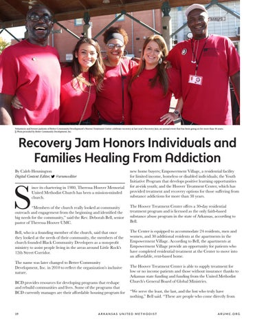 Page 20 of Recover Jam Honors Individuals and Families Healing From Addiction
